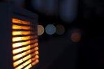 Lampy uliczne nocą